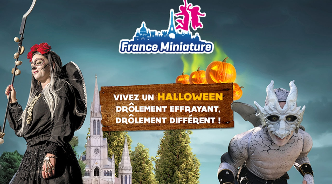 halloween à France Miniature