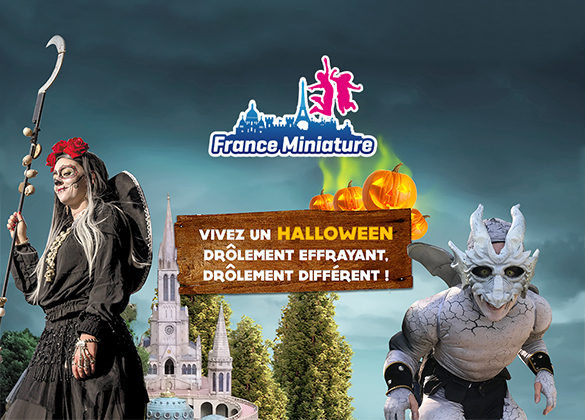 fêtez Halloween à France Miniature
